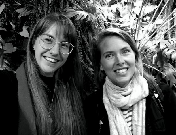 Miriam Rasch en Emma van Meijeren