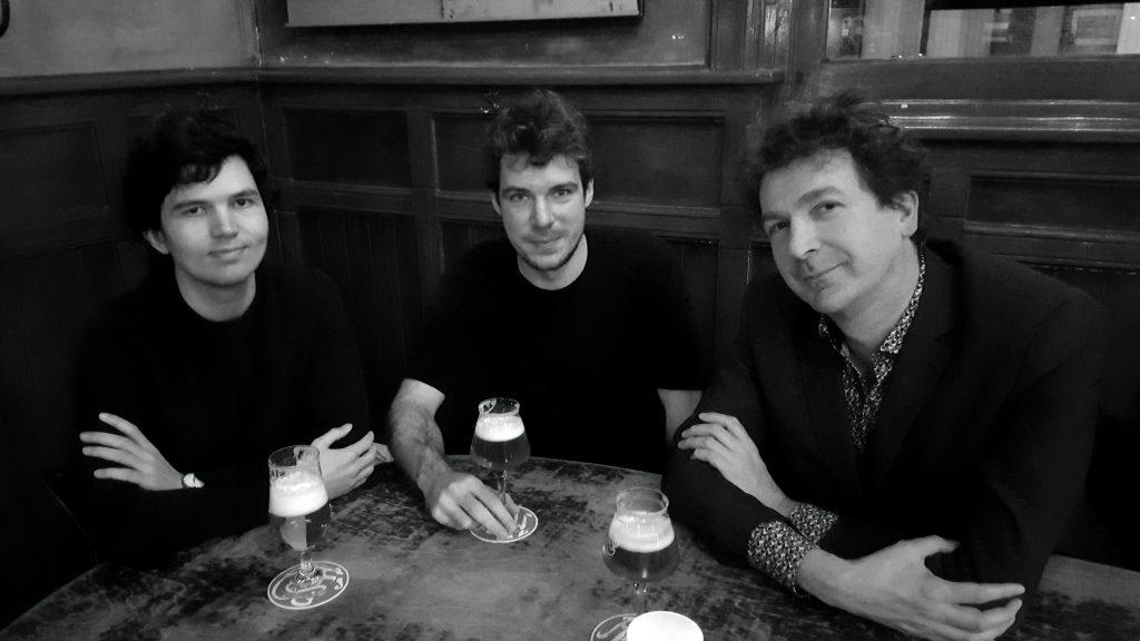 Tommy van Avermaete, Fyke Goorden en Erik Lindner