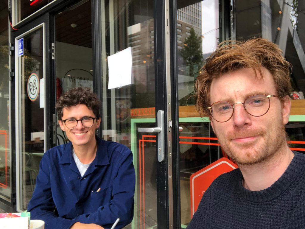 Hannes Cools en Jan Postma