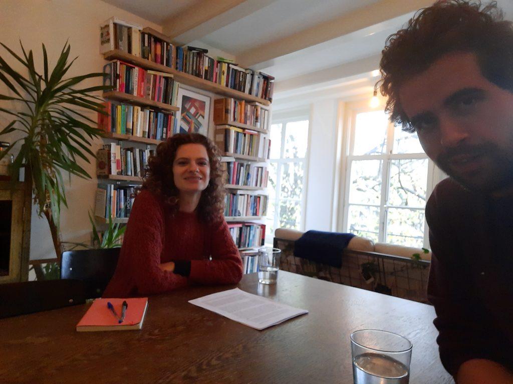 Milou Voskuilen en Thomas Heerma van Voss