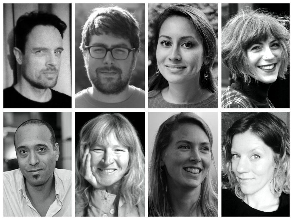 Redactie De Nieuwe Garde: Martien Bos, Johannes De Breuker, Lili Burki, Ruth Kief, Rashid Novaire, Anne-Marie Poels, Miriam Rasch & Daphne Rieken