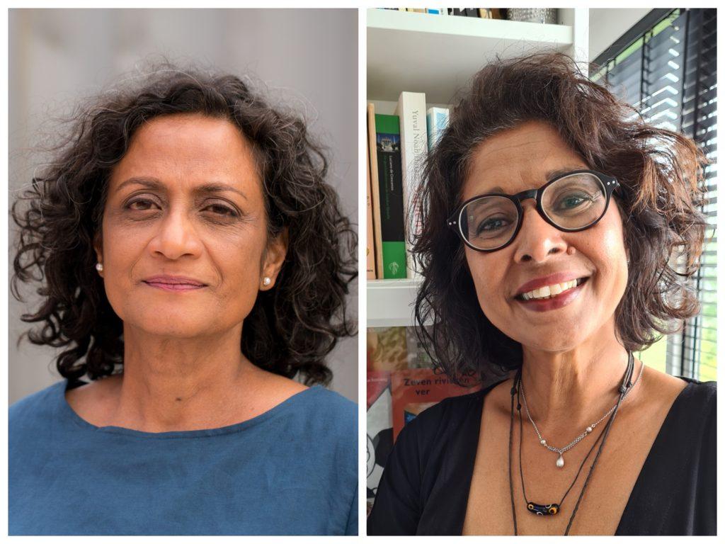 Rahina Hassankhan en Karin Lachmising